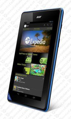 Acer Iconia B1-A71 - in arrivo un tablet Android da poco piu' di 100 euro