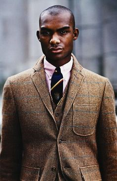 Tweeds so handsome for autumn and winter