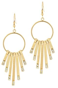 Andrew Hamilton Crawford Farrah Earrings In Gold