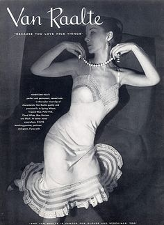 Van Raalte (Lingerie) 1954
