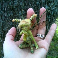 Green Pea - Sculpt by FooFootheSnoo.deviantart.com on @deviantART