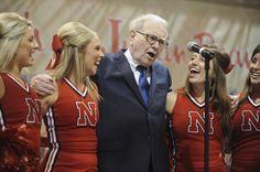Singing with cheerleaders!