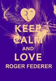 Love Federer