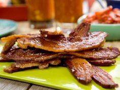 Maple-Dijon-Black Pepper Glazed Bacon