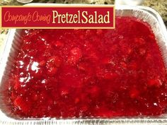 Pretzel Salad http://www.momspantrykitchen.com/pretzel-salad.html