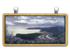Avila Wood Pendant