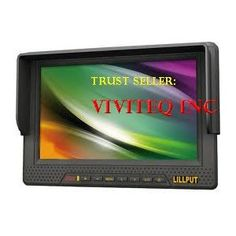 Lilliput 7-inch LCD monitor with HDMI, YPbPr interface, dedicated high-definition video camera by Koolertron --- http://www.amazon.com/Lilliput-interface-dedicated-high-definition-Koolertron/dp/B0041I8UAO/?tag=wwwcash4cas01-20