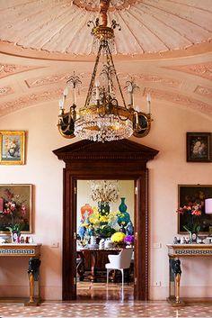 Donatella Versace's Foyer