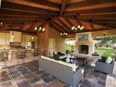 Outdoor living room outdoor-spaces