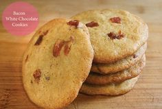 Bacon White Chocolate Cookies | Simply Jolleen
