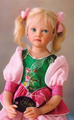 Ophelie #01 (2004 doll) by Heloise of France is my favorite doll (in my own collection, Nancy Lee Moran). ~ Photo by Nancy Lee Moran