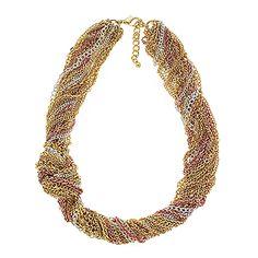 $38 Blush Necklace by Traci Lynn Fashion Jewelry.