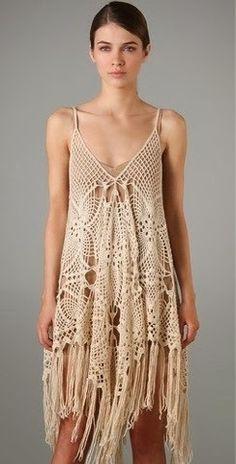 Pretta Crochet: Vestido de crochet