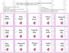 she is having a baby pictionary baby shower game by partypaloozza 3