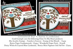 Christine's Creative Capers: September Stamp of the Month