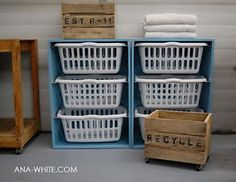 This would also be a great recycling station!