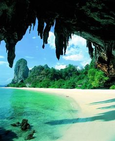 bucket list, beaches, resorts, dream vacations, beauti, places, thailand travel, cave, krabi