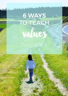 Teaching values happ