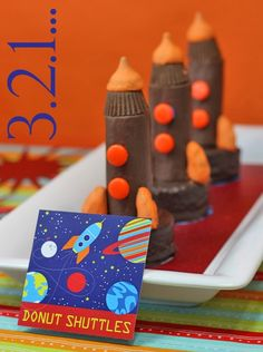 Mini Space Shuttle Treats- good for space party
