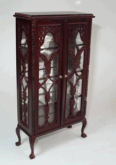Lace Front Curio Cabinet M