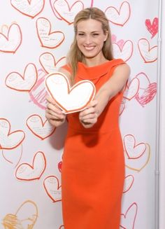 #charity Petra Nemcova attends the Happy Hearts Fund In Partnership With Clinique Launch Event at Bloomingdale's 59th Street Store on December 14, 2012