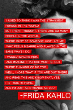 Kind of really dislike the name of the Tumblr it came from. But I love the quote.