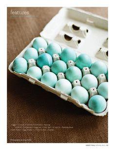 blue eggs, Sweet Paul