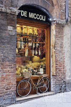Italian delicatessen**.