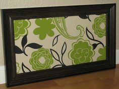 Fabric lined magnetic memo board 975x195 by SimplyMagneticDesign, $45.00