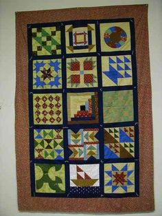 The Edwards History and Genealogy Center ... Sampler Quilt for the Underground Railroad slave quilt, sampler quilts, quilt pattern