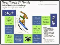 Greg tang s winter break math challenge kids learn math and have fun