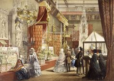 Medieval department at the Great Exhibition 1851