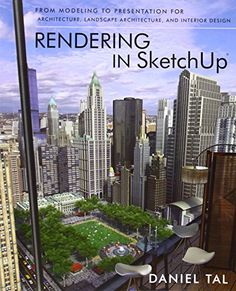 Rendering in SketchUp: From Modeling to Presentation for Architecture, Landscape Architecture and Interior Design by Daniel Tal http://www.amazon.com/dp/047064219X/ref=cm_sw_r_pi_dp_0tl.tb1R2DVAG