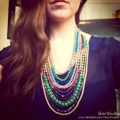 LOVE. Zahara Bib Necklace. Stella & Dot. www.stelladot.com/SheaWindley