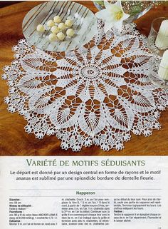 Doily and diagram