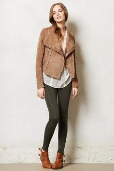 want it for Fall! Vicenza Moto Jacket #AnthroFave