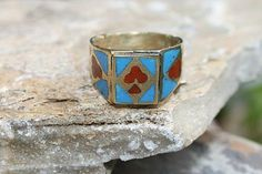 Vintage Afghan Ring by look4treasures on Etsy, $29.95