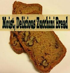 Zucchini bread, need I say more?