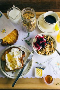 Macadamia, Honey and Thyme Granola | Simple Provisions