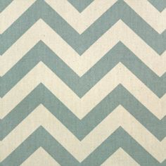 Premier Prints Fabric Zig Zag Chevron in Village Blue and Natural - Fat Quarter. $3.50, via Etsy.