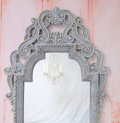 FRENCH PROVINCIAL MIRROR For Sale Long Full by RevivedVintage, $364.00
