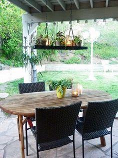 pot rack for planter