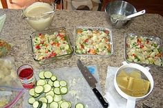 Great Freezer meal recipes and ideas