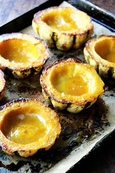 Roasted Acorn Squash with Maple Butter