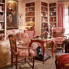 one way to build out more book shelves in corner to left f FP. would also deepen old closet to give more space for laundry room to stack w/d. The Enchanted Home: Charles Faudree