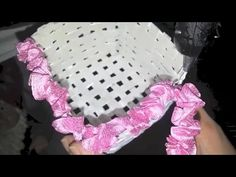 DIYCrafts Magazine - Recycled Newspaper Into Basket - YouTube