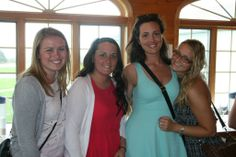 Friends since freshman year enjoy the wine tour. #Caz2014