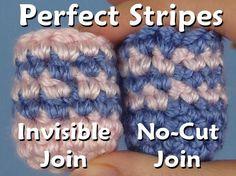 Perfect Stripes for Amigurumi [video] ✿Teresa Restegui http://www.pinterest.com/teretegui/✿