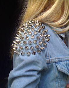 #Studded #Jacket
