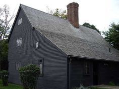 The house was the home of Judge Jonathan Corwin who presided over the Salem Witch Trials of 1692
